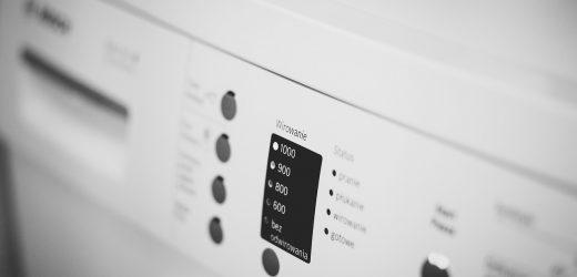 Odpowiednie użytkowanie pralki – najczęstsze błędy.